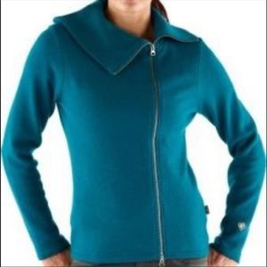Kuhl 100% Merino Wool Prague Zip Sweater